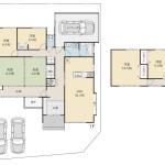 【 中古住宅 】栄町2丁目 6LDK・3台駐車可能(うちインナーガレージ1台分)平成29年10月リフォーム完了予定