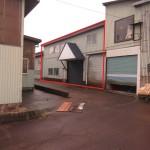 工場外観(赤線部分の建物)