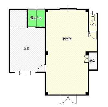 三交オフィス1階間取S