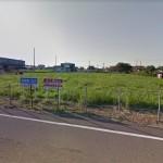 【 事業用貸地 】上越市頸城区下中島 614.98坪 国道8号線まで約250m